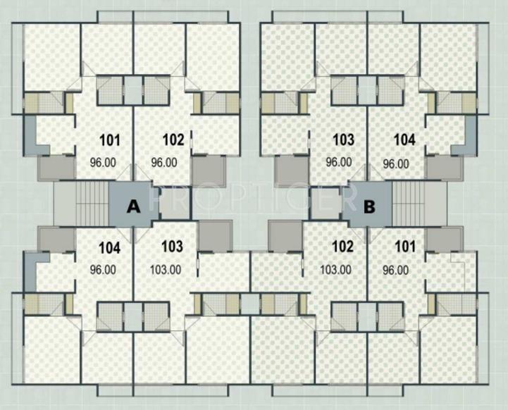 Images for Cluster Plan of Shilp Enclave