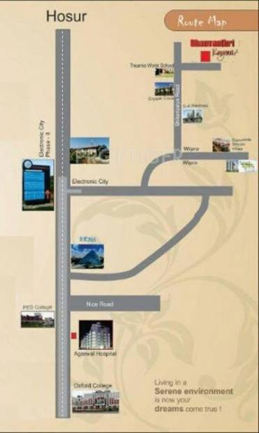 Images for Location Plan of Madhura Dhanvanthri Layout