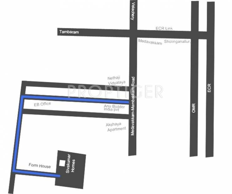 Images for Location Plan of Sivakumar Siva Flats B Block