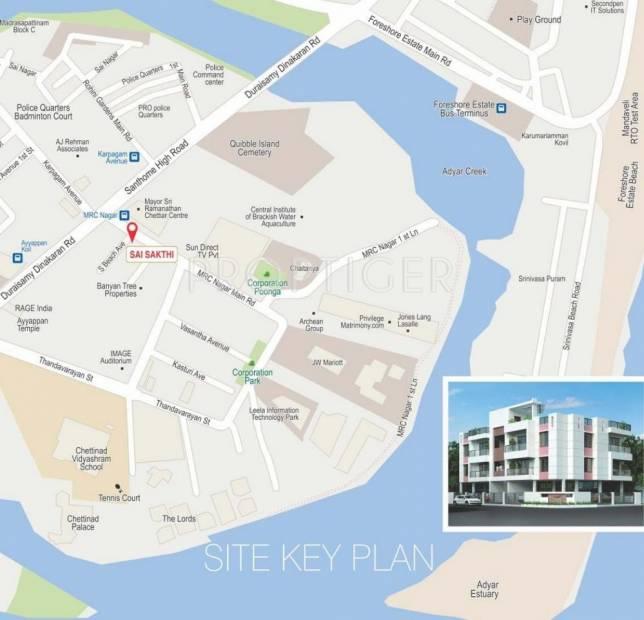 Images for Location Plan of Oyester Sai Sakthi
