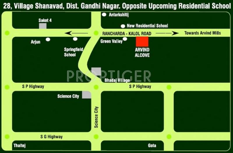 Images for Location Plan of Arvind Alcove