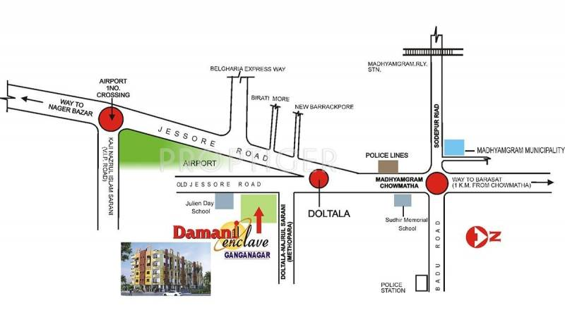 Images for Location Plan of Bumba Damani Enclave