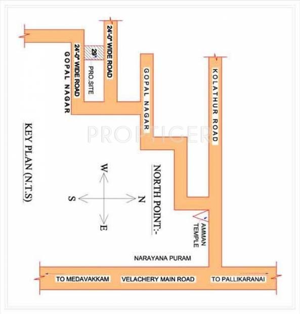 sai-chavadi Images for Location Plan of Sai Foundations Sai Chavadi