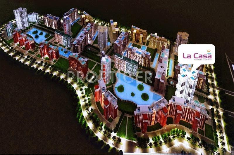 Images for Layout Plan of Adwik La Casa