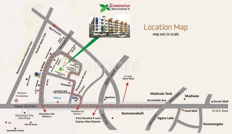 Images for Location Plan of Sreevaru Srivasines