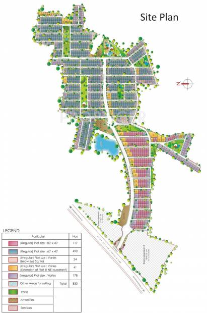 Images for Site Plan of DLF Gardencity