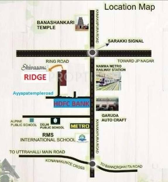 Images for Location Plan of Shivaganga Ridge