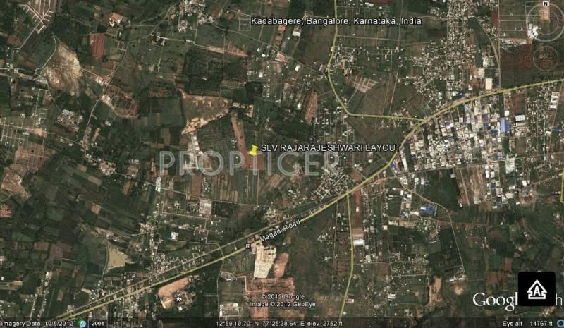 Images for Location Plan of SLV Raja Rajeshwari Layout