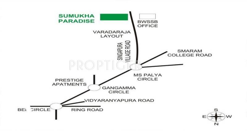 Images for Location Plan of Carp Sumukha Paradise
