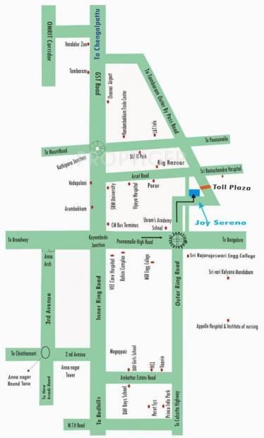 Images for Location Plan of Aurris Joy Sereno