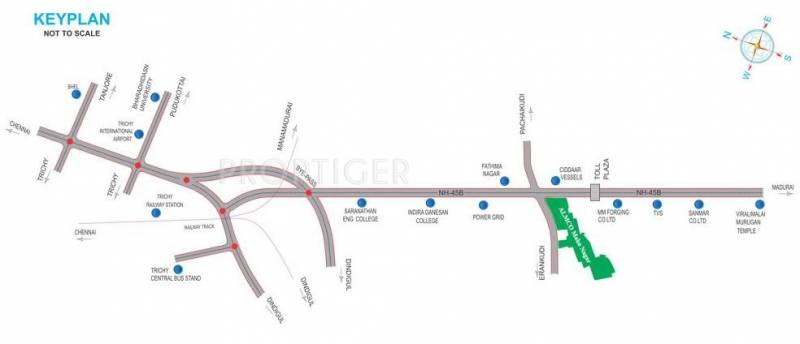 Images for Location Plan of Almco Maha Nagar