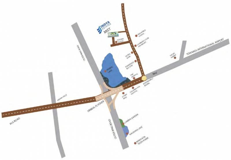 the-mist Location Plan