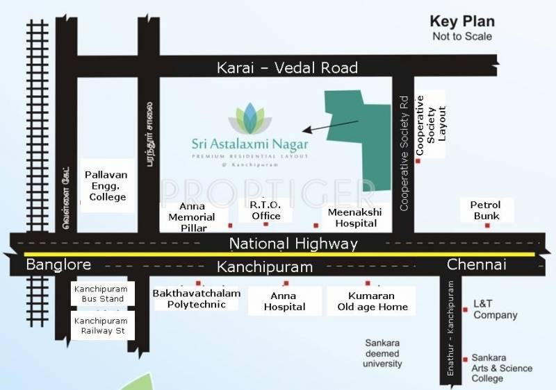 Images for Location Plan of Golden Sri Astalaxmi Nagar