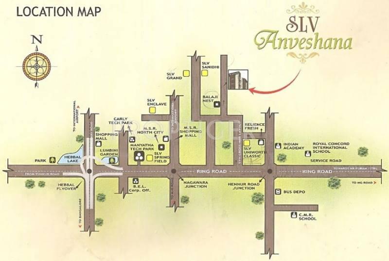 Images for Location Plan of SLV Anveshana