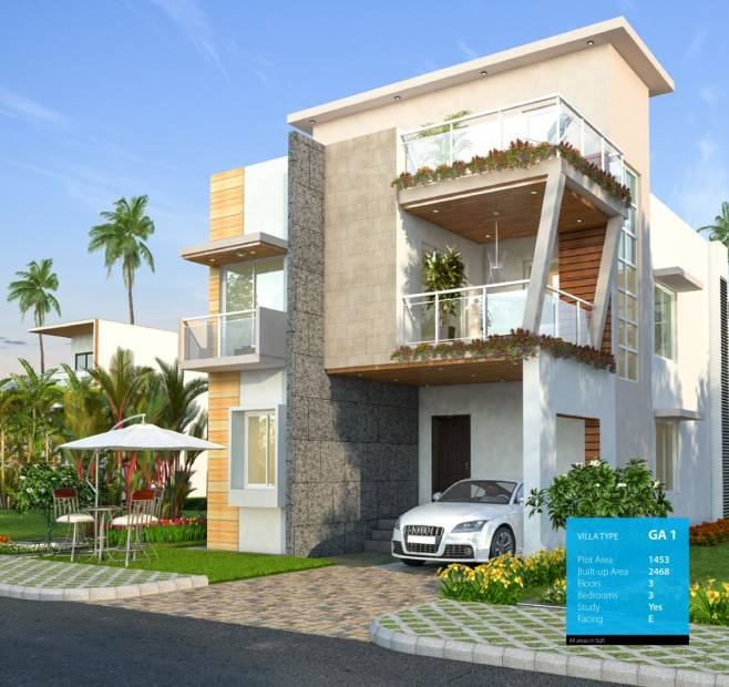 Images for Elevation of Yashasvi Green Avenues