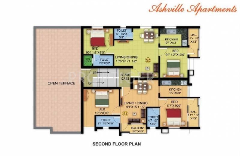 Images for Cluster Plan of Arka Homes Ashville Apartments