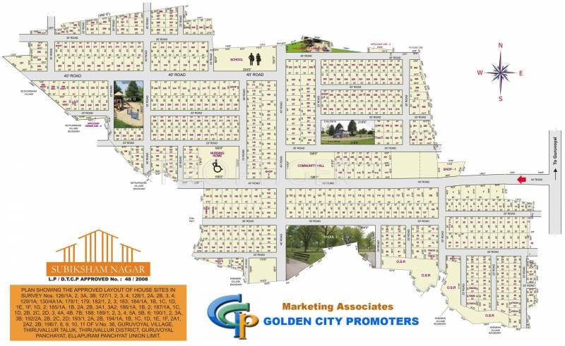 Images for Layout Plan of Golden Subhiksham Nagar