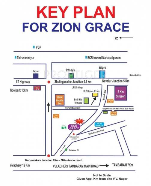 Images for Location Plan of Zion Grace