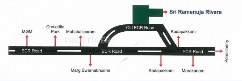 Images for Location Plan of Golden Sri Ramanuja Riviera