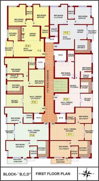 Images for Cluster Plan of JMM Homes Lakshmi Apartments