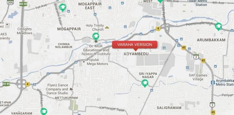 Images for Location Plan of Viswak Varaha Version