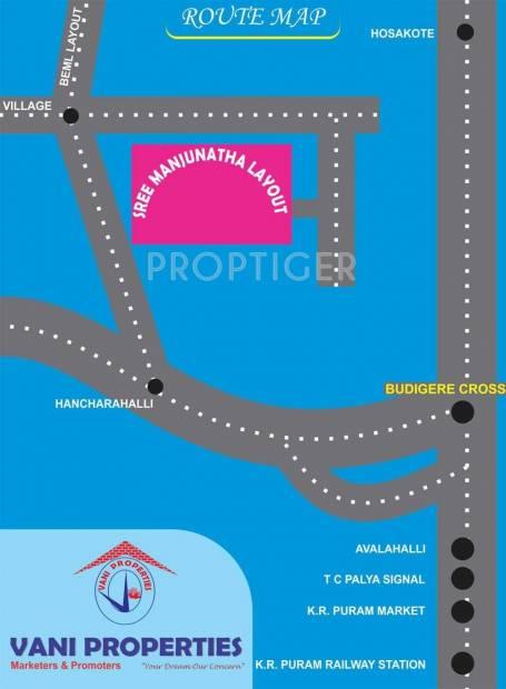 Images for Location Plan of Vani Manjunatha Layout