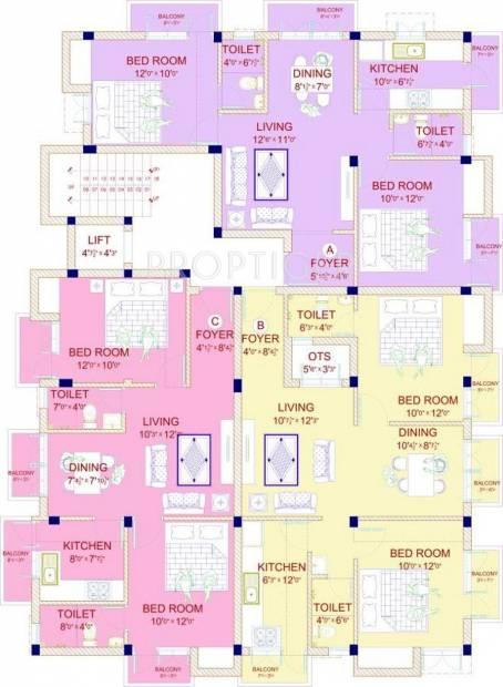 Images for Cluster Plan of JMM Homes Sathyam Shivam Sundaram