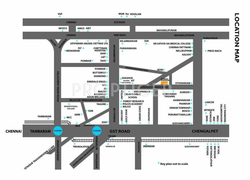 Images for Location Plan of Venkateswara Somas Garden