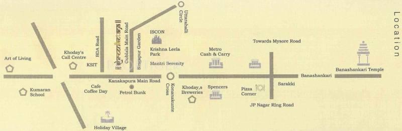 Images for Location Plan of Vani Shreeniketana Apartments