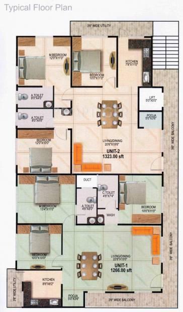 Images for Cluster Plan of Vani Sunrise Enclave
