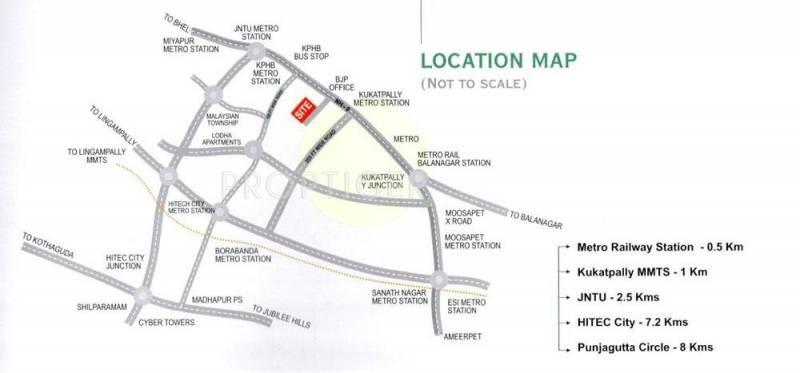 Images for Location Plan of RV Lakshmi Grande
