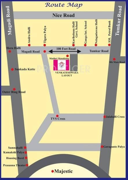 Images for Location Plan of Vani Shree Venkateshwara Layout