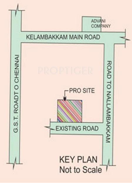 Images for Location Plan of Vamanan Estates Thirupathi Thirumalai Nagar