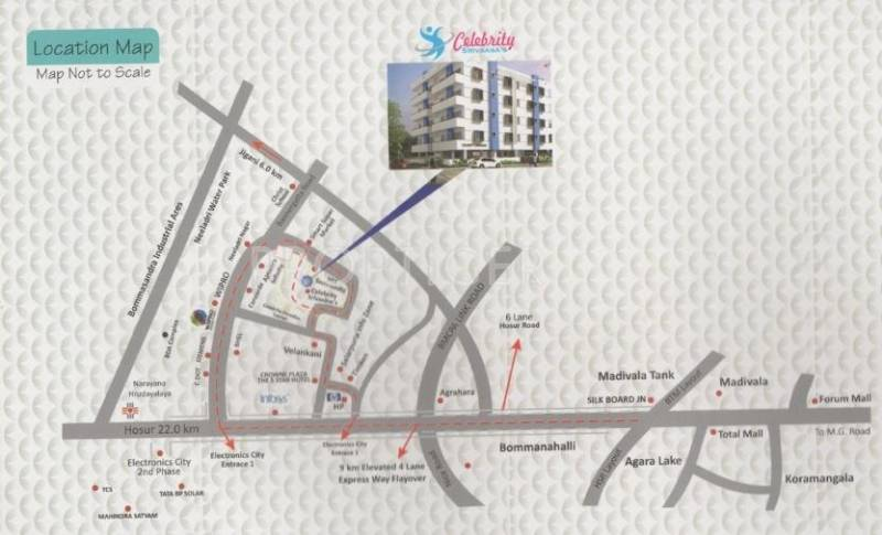 Images for Location Plan of Celebrity Structure Srivaasas
