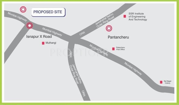 Images for Location Plan of Octagon Kashish Homes
