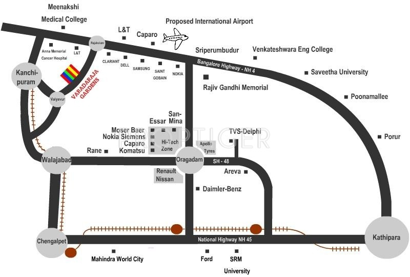 Images for Location Plan of Pan360 Properties Varadaraja Gardens