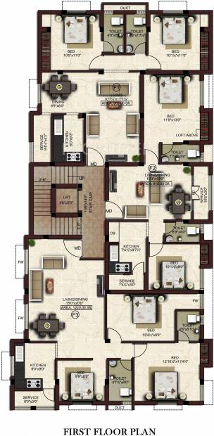 Images for Cluster Plan of Shree Varu Homes Kings Cove