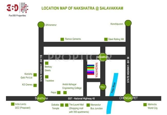 Images for Location Plan of Pan360 Properties Nakshatra Avenue