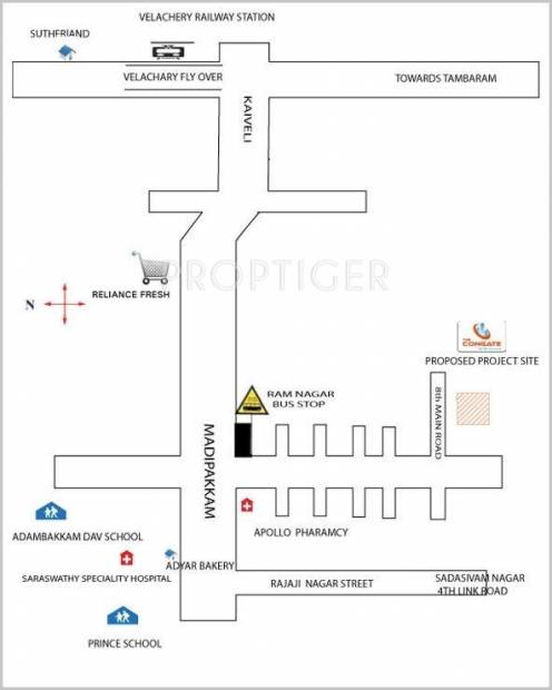 Images for Location Plan of Congate Ram Nagar Site 1