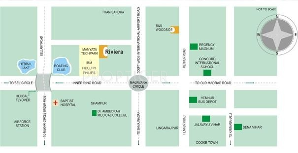 R and S Group Riviera Location Plan
