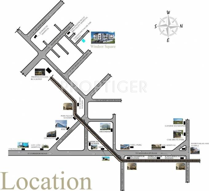 Images for Location Plan of Four Square Developer Windsor square