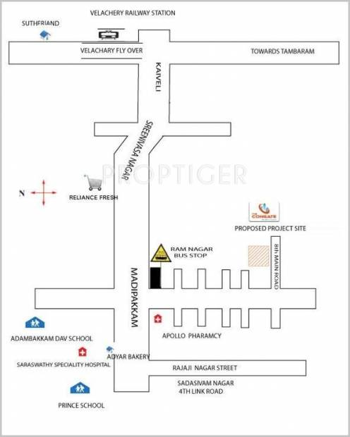Images for Location Plan of Congate Ram Nagar Site 2