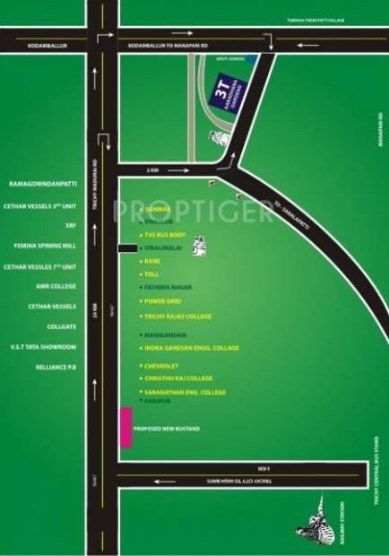 Images for Location Plan of 3t Properties Aaradhana Gardens