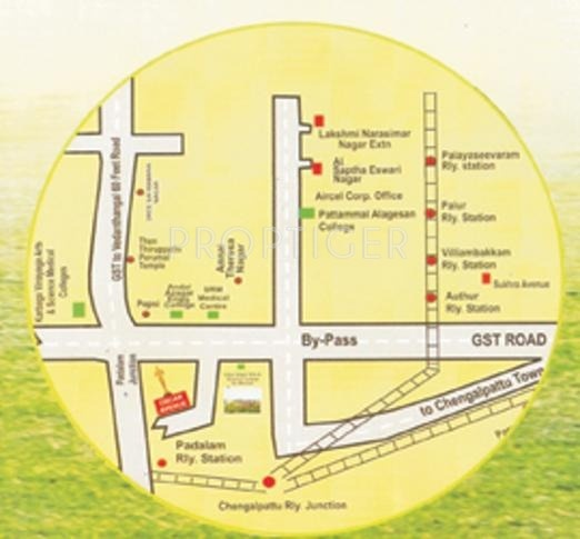 Images for Location Plan of Senthil Oscar Avenue