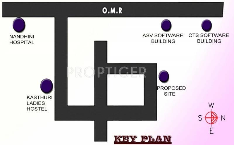 Ranganayaki Builders South Firm Manasarovar Location Plan