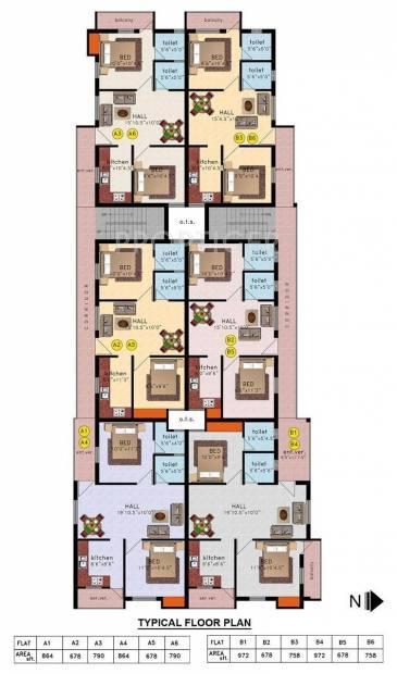 Images for Cluster Plan of Vinayagga Vinayagga Homes