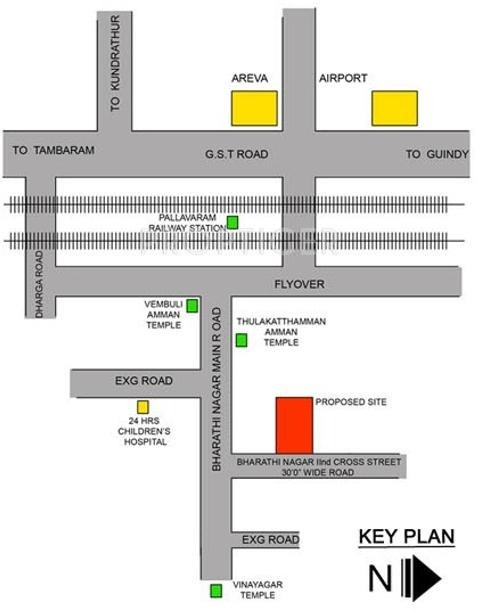 Images for Location Plan of Vinayagga Vinayagga Homes