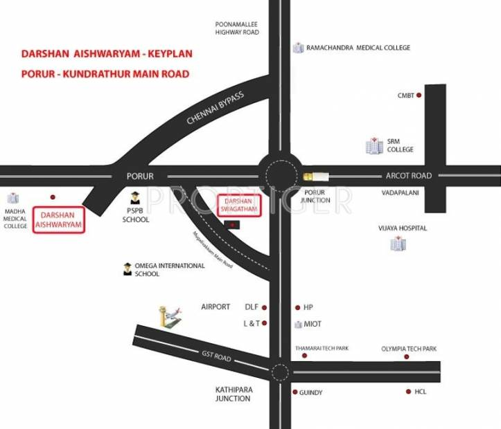 Images for Location Plan of Darshan Aishwaryam