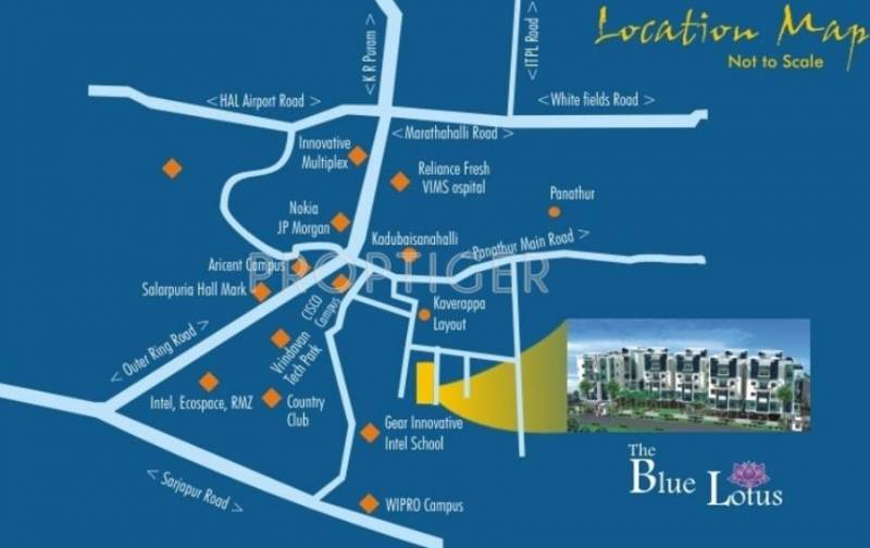Pala Homes The Blue Lotus Location Plan