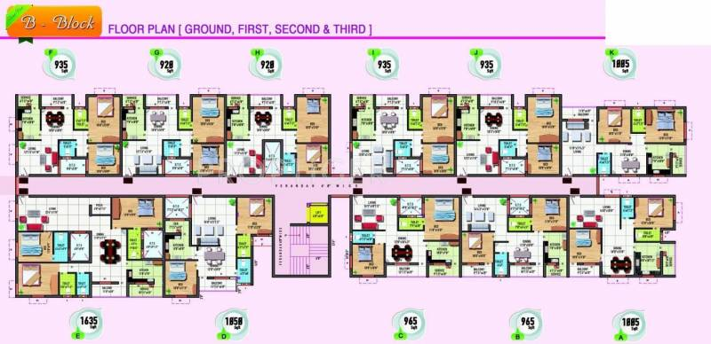 Images for Cluster Plan of Lavanyaa Anjana